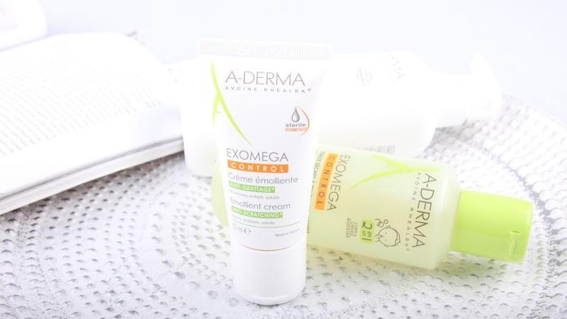 Po dobu několika týdnů moji nejlepší přátelé: kosmetika pro atopiky A-derma Exomega Control.
