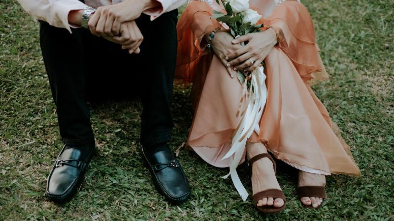 Svatební šaty ze sekáče? Proč ne!