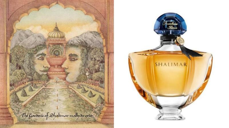 Parfém Shalimar a obrázek indického panovníka