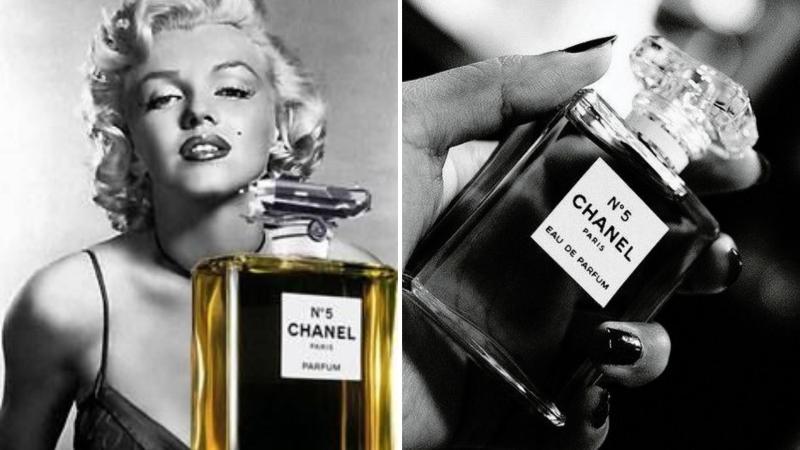 Ikonický francouzský parfém Chanel No. 5 a Marilyn Monroe